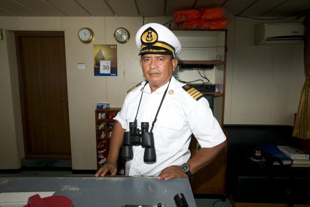 "Captain of ""Sabuk Nusantara 33"""