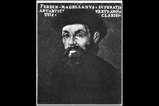 Ferdinand Magellan, contemporary portrait