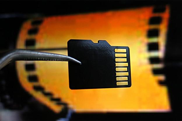 Minichip als Datenträger